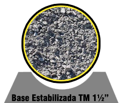 Base Estabilizada TM 1½""